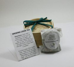 Eco Wedding Favors | Organic Calming Rest Caffeine Free Tea
