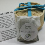 Eco Wedding Favors | Organic Chai Tea