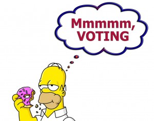 Can't ever go wrong with Mr. Homer Simpson!!! Vote for Favor Creative!!