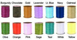 Favor Creative - Eco Friendly Party Favors Raffia Ribbon Colors