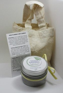 Eco Friendly Soy Candles| Lovely Lavender