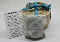 Eco Wedding Favors   Organic Chai Tea